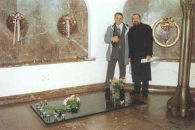 Могила Коменского в Наардене