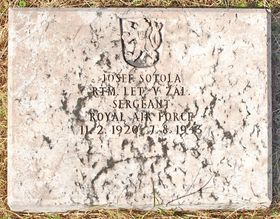 Hrob Josefa Šotoly vNassau, Bahamy, foto: Ministerstvo obrany ČR