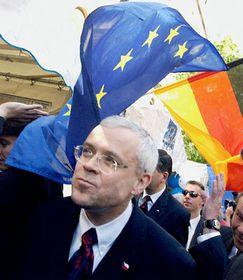 Festejos del ingreso de la RCh a la UE, Vladimir Spidla (Foto: CTK)