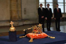 Joyaux de la couronne tchèque, photo : ČTK