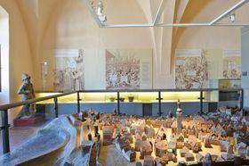 Model města, foto: archiv Husitského muzea vTáboře