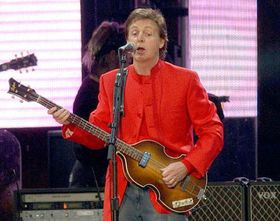 Paul McCartney, photo: CTK