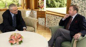Вацлав Гавел (направо) и Владимир Шпидла (Фото: ЧТК)