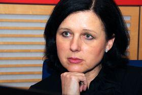 Věra Jourová, foto: Šárka Ševčíková, ČRo