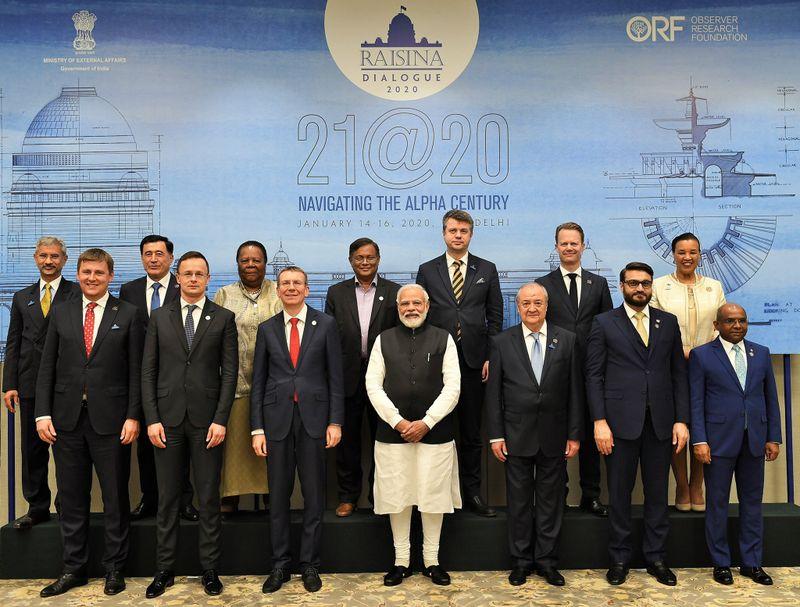 Tomáš Petříček na jednáních vIndii, foto: Twitter Úřadu premiéra Indie