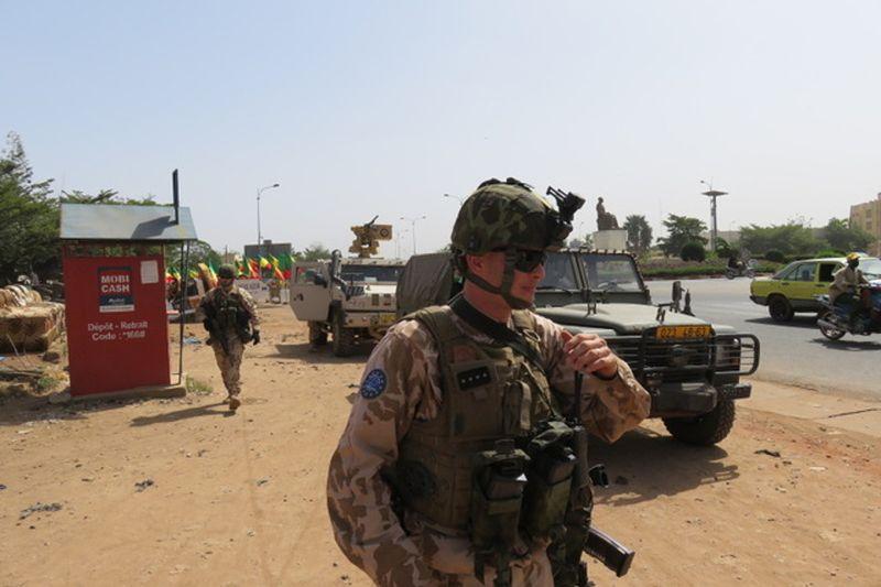 Los soldados checos en Mali, foto: Jan Šulc / Fuerzas Armadas Checas