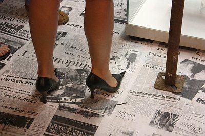 Фото бизнес леди на каблуках — 8