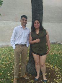 Max Santana y Jimena Samario, foto: Dominika Bernáthová