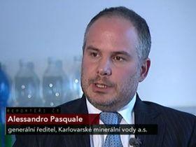 Alessandro Pasquale, photo: Czech Television