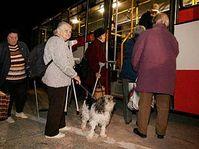Evakuace na Znojemsku, foto: ČTK