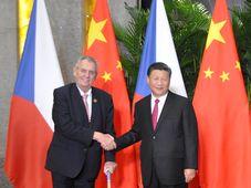 Miloš Zeman, Xi Jinping, photo: ČTK/Radek Jozífek