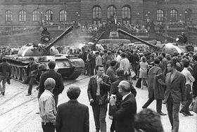 August 1968 in Prag