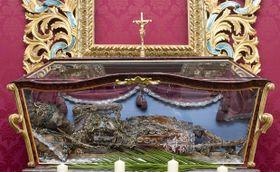 Relikviář sostatky sv. Reparáta zroku 1772, foto: ČTK