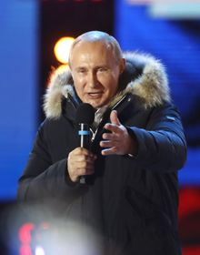 Vladimir Poutine, photo: ČTK