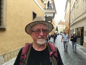 Gerald Turner on Michalská, photo: Ian Willoughby