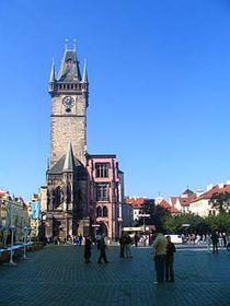 L'Hôtel de ville de Prague à présent