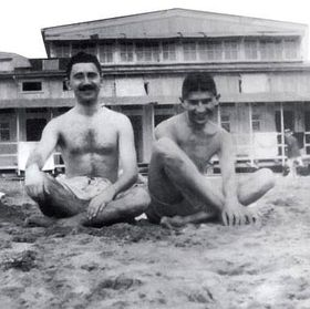 Max Brod et Franz Kafka, photo: publuc domain