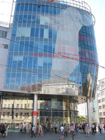 Building by Jean Nouvel at Anděl, photo: archive of Radio Prague