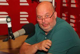 Miroslav Toman, foto: Jana Přinosilová, archiv ČRo