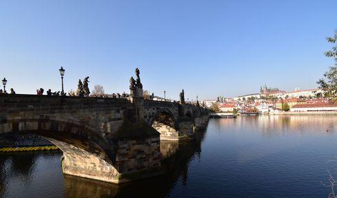 Vltava in Prague, photo: Ondřej Tomšů