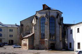 La iglesia monasterial de la Santa Cruz, foto: Nostrifikator, CC BY-SA 3.0 Unported