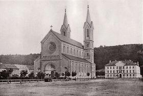 Карлинская площадь на снимке 1868 г., Фото: Франтишек Фридрих