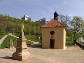 Chapel of Saint John of Nepomuk, Radlice, photo: Miloš Turek