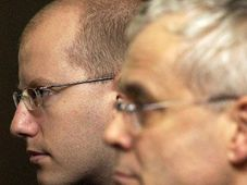 Bohuslav Sobotka and Vladimir Spidla, photo: CTK