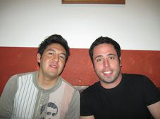 Jonathan Flores y Patricio Ibargüengoitia