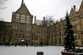 Manchester University, photo: Mike Peel, Wikimedia CC BY-SA 4.0