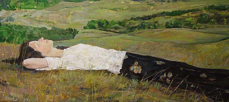 Картина Сергея Ищука, источник: art.salixus.cz