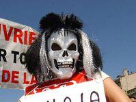 Protestations à Marseille, photo: CTK