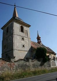 L'église catholique de Bošín