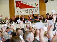 Le Parti communiste de Bohême et de Moravie (KSČM), photo: ČTK