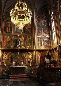 Svatováclavska kaple vchrámu Svatého Víta vPraze, foto: Barbora Kmentová / Český rozhlas - Radio Praha
