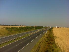 La autopista D8, foto: archivo de Radio Praga