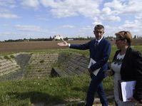 Andrej Babiš v Letňanech, foto: ČTK/Michal Krumphanzl