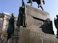 Estatua de San Venceslao en Praga, foto: archivo de Radio Praga
