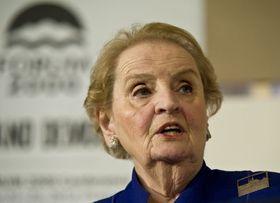 Madeleine Albright, photo:  Filip Jandourek, ČRo