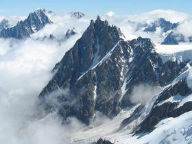 Aiguille du Midi, Chamonix, photo: Martin Janner, CC BY-SA 3.0