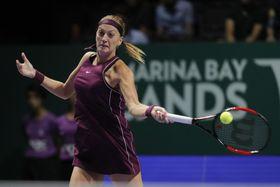 Petra Kvitová, foto: ČTK/AP/Vincent Thian