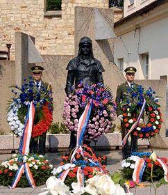 Commemoration ceremony of the 125th anniversary of birth of Milan Rastislav Stefanik, photo: CTK
