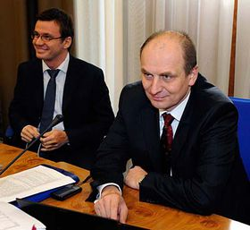 Ministra zemědělství Petr Gandalovič (vpravo), foto: ČTK