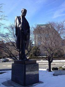 Статуя Томаша Гаррига Масарика в Вашингтоне, Фото: Nicolas Veron, CC BY-SA 3.0