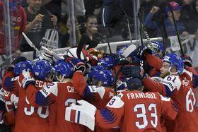 La République tchèque a battu la Russie (4-3 après prolongation), photo: ČTK