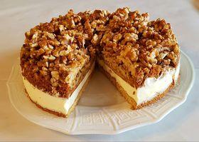Ореховый торт, Фото: официальный сайт конкурса «Чешский деликатес»