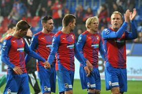 Футболисты плзеньской «Виктории» (Фото: ЧТК)