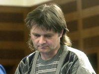 Jaroslav Stodola těsně před vynesením rozsudk o doživotním trestu ve věznici s ostrahou, foto: ČTK