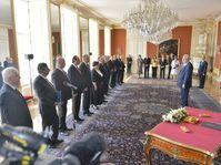 Miloš Zeman a nommé le nouveau gouvernement, photo: CTK
