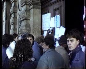 Le film documentaire 'Sametová FAMU', photo: DOK Revue